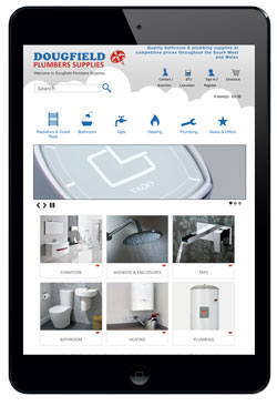 Dougfields Plumbers Supplies website and shop
